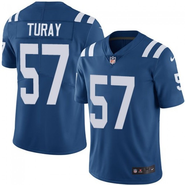 Nike Colts #57 Kemoko Turay Royal Blue Team Color Men's Stitched NFL Vapor Untouchable Limited Jersey