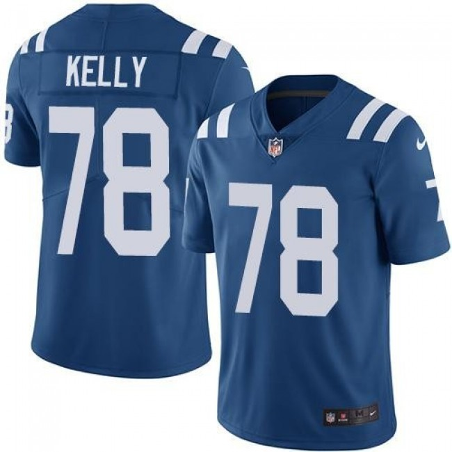 Indianapolis Colts #78 Ryan Kelly Royal Blue Team Color Youth Stitched NFL Vapor Untouchable Limited Jersey
