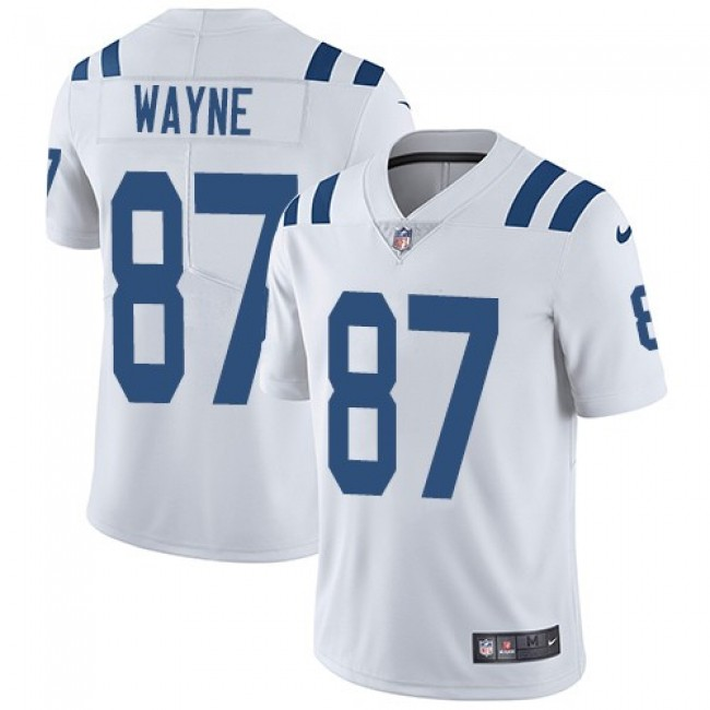 Nike Colts #87 Reggie Wayne White Men's Stitched NFL Vapor Untouchable Limited Jersey