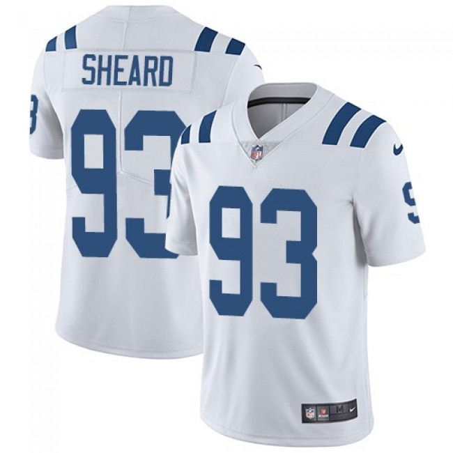 Nike Colts #93 Jabaal Sheard White Men's Stitched NFL Vapor Untouchable Limited Jersey