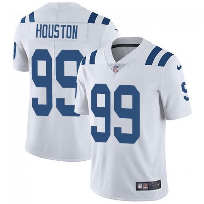 Nike Colts #99 Justin Houston White Men's Stitched NFL Vapor Untouchable Limited Jersey