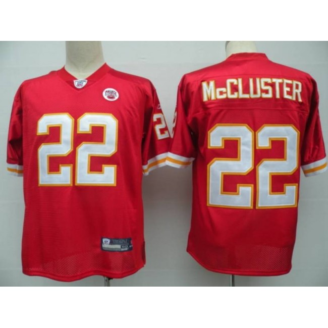 Chiefs #22 Dexter McCluster Red Stitched NFL Jersey