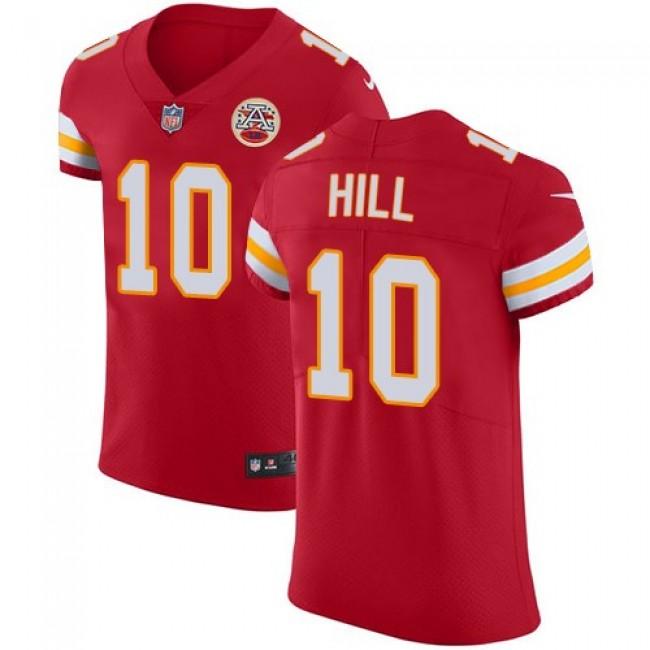 Nike Chiefs #10 Tyreek Hill Red Team Color Men's Stitched NFL Vapor Untouchable Elite Jersey