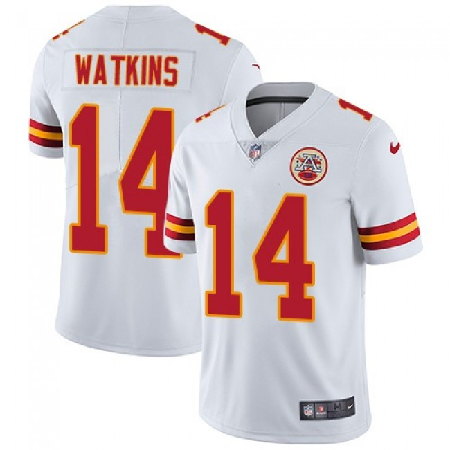 Nike Chiefs #14 Sammy Watkins White Men's Stitched NFL Vapor Untouchable Limited Jersey