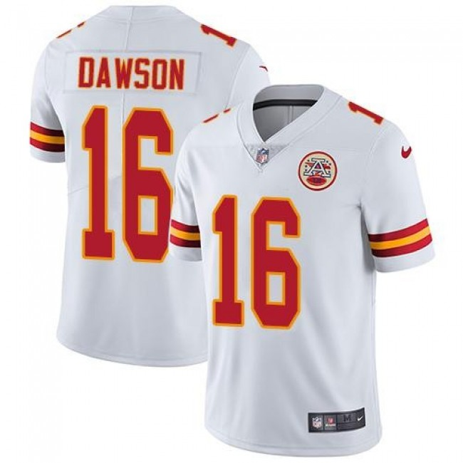 Nike Chiefs #16 Len Dawson White Men's Stitched NFL Vapor Untouchable Limited Jersey