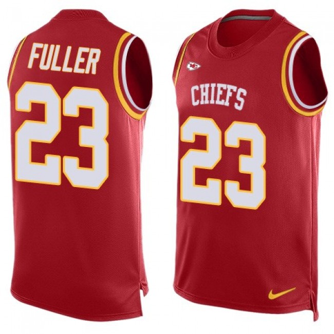 Nike Chiefs #23 Kendall Fuller Red Team Color Men's Stitched NFL Limited Tank Top Jersey