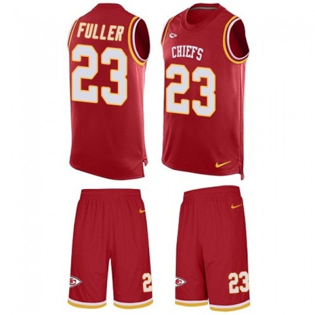 Nike Chiefs #23 Kendall Fuller Red Team Color Men's Stitched NFL Limited Tank Top Suit Jersey
