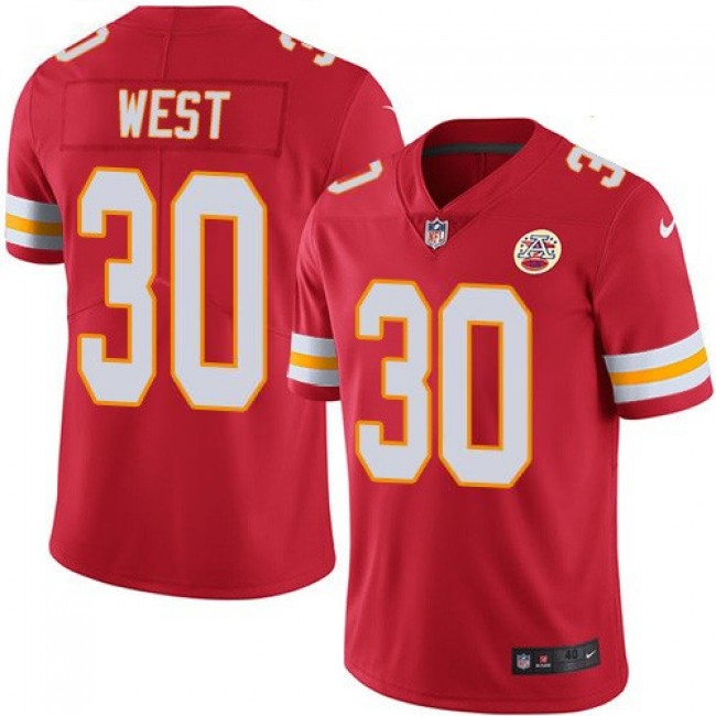 Nike Chiefs #30 Charcandrick West Red Team Color Men's Stitched NFL Vapor Untouchable Limited Jersey