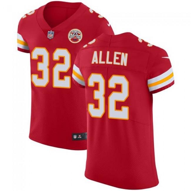 Nike Chiefs #32 Marcus Allen Red Team Color Men's Stitched NFL Vapor Untouchable Elite Jersey