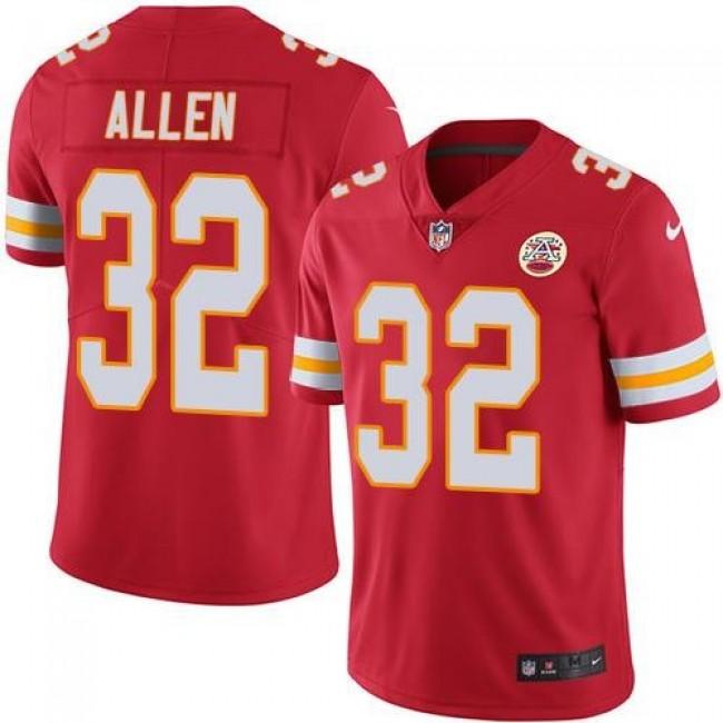 Nike Chiefs #32 Marcus Allen Red Team Color Men's Stitched NFL Vapor Untouchable Limited Jersey
