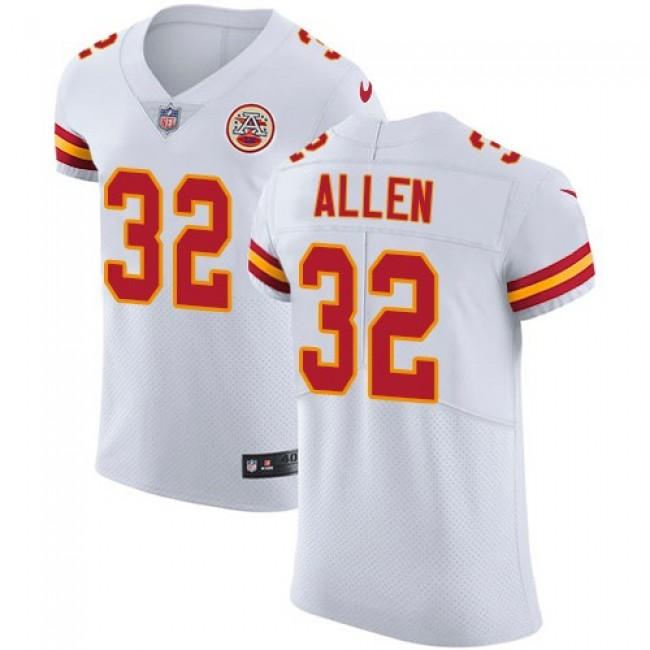 Nike Chiefs #32 Marcus Allen White Men's Stitched NFL Vapor Untouchable Elite Jersey