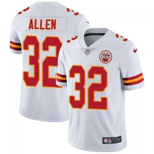 Nike Chiefs #32 Marcus Allen White Men's Stitched NFL Vapor Untouchable Limited Jersey