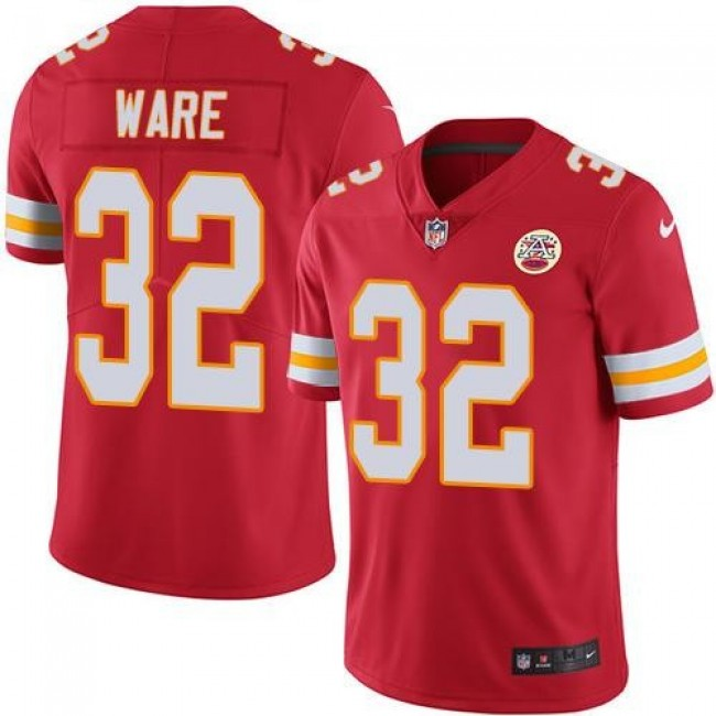 Kansas City Chiefs #32 Spencer Ware Red Team Color Youth Stitched NFL Vapor Untouchable Limited Jersey