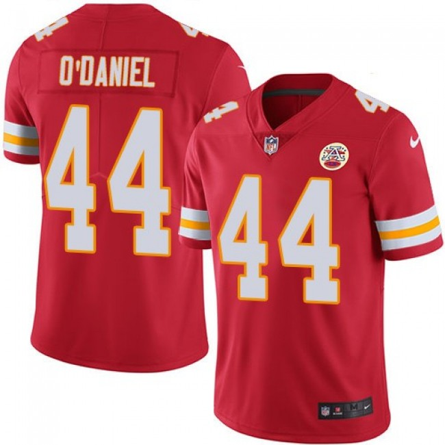 Nike Chiefs #44 Dorian O'Daniel Red Team Color Men's Stitched NFL Vapor Untouchable Limited Jersey