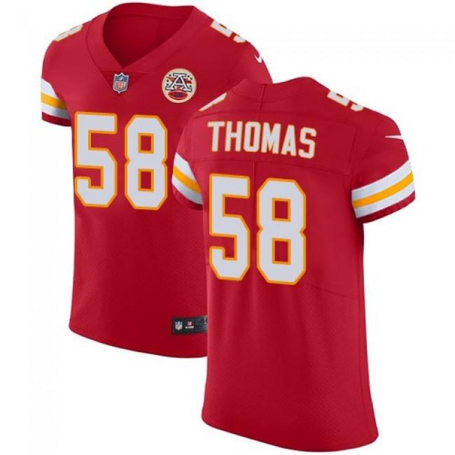 Nike Chiefs #58 Derrick Thomas Red Team Color Men's Stitched NFL Vapor Untouchable Elite Jersey