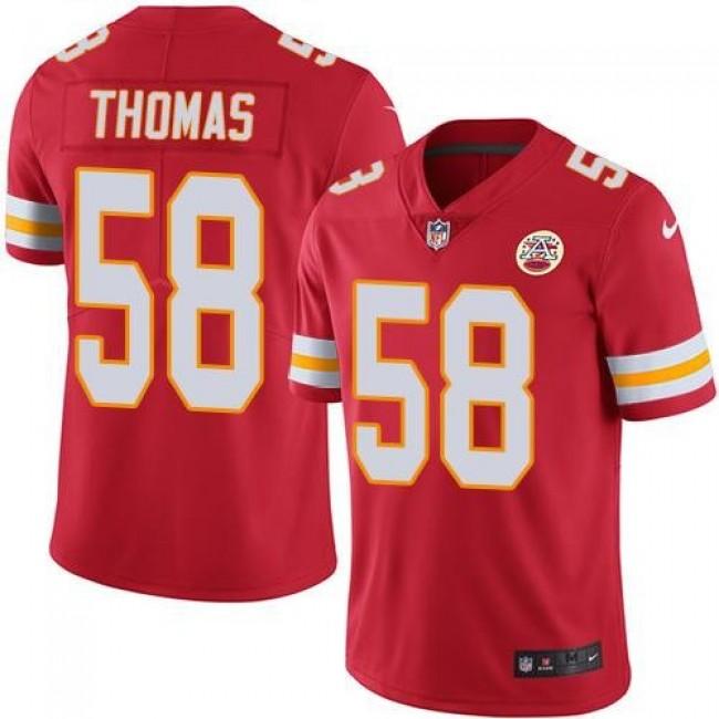 Nike Chiefs #58 Derrick Thomas Red Team Color Men's Stitched NFL Vapor Untouchable Limited Jersey