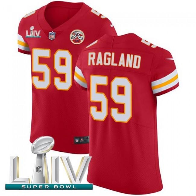 Nike Chiefs #59 Reggie Ragland Red Super Bowl LIV 2020 Team Color Men's Stitched NFL Vapor Untouchable Elite Jersey