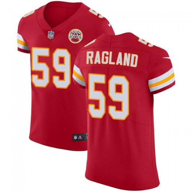 Nike Chiefs #59 Reggie Ragland Red Team Color Men's Stitched NFL Vapor Untouchable Elite Jersey