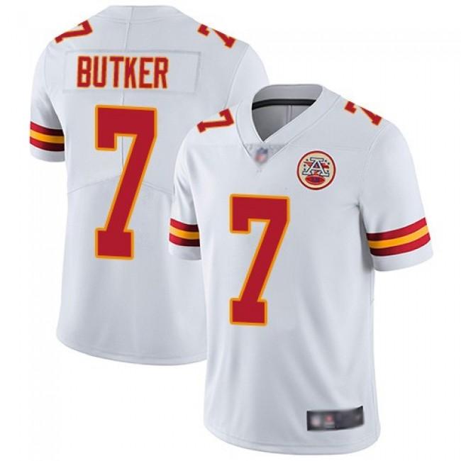 Nike Chiefs #7 Harrison Butker White Men's Stitched NFL Vapor Untouchable Limited Jersey