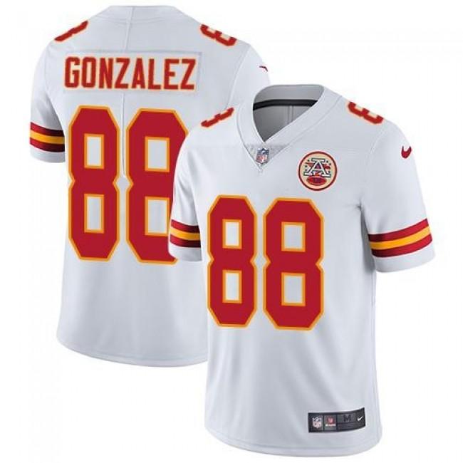 Nike Chiefs #88 Tony Gonzalez White Men's Stitched NFL Vapor Untouchable Limited Jersey