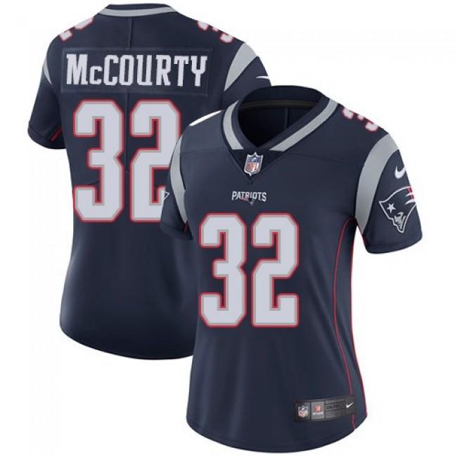Women's Patriots #32 Devin McCourty Navy Blue Team Color Stitched NFL Vapor Untouchable Limited Jersey