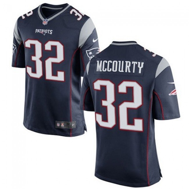 New England Patriots #32 Devin McCourty Navy Blue Team Color Youth Stitched NFL New Elite Jersey