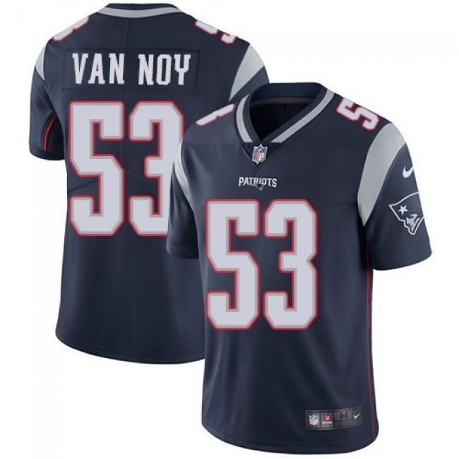 Nike Patriots #53 Kyle Van Noy Navy Blue Team Color Men's Stitched NFL Vapor Untouchable Limited Jersey