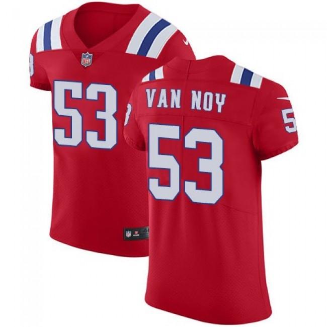 Nike Patriots #53 Kyle Van Noy Red Alternate Men's Stitched NFL Vapor Untouchable Elite Jersey