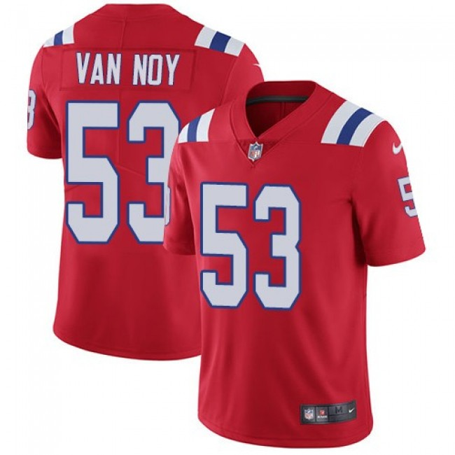 Nike Patriots #53 Kyle Van Noy Red Alternate Men's Stitched NFL Vapor Untouchable Limited Jersey