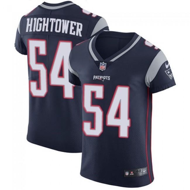 Nike Patriots #54 Dont'a Hightower Navy Blue Team Color Men's Stitched NFL Vapor Untouchable Elite Jersey