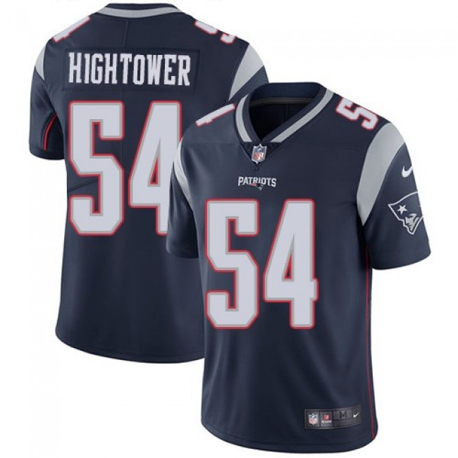 Nike Patriots #54 Dont'a Hightower Navy Blue Team Color Men's Stitched NFL Vapor Untouchable Limited Jersey