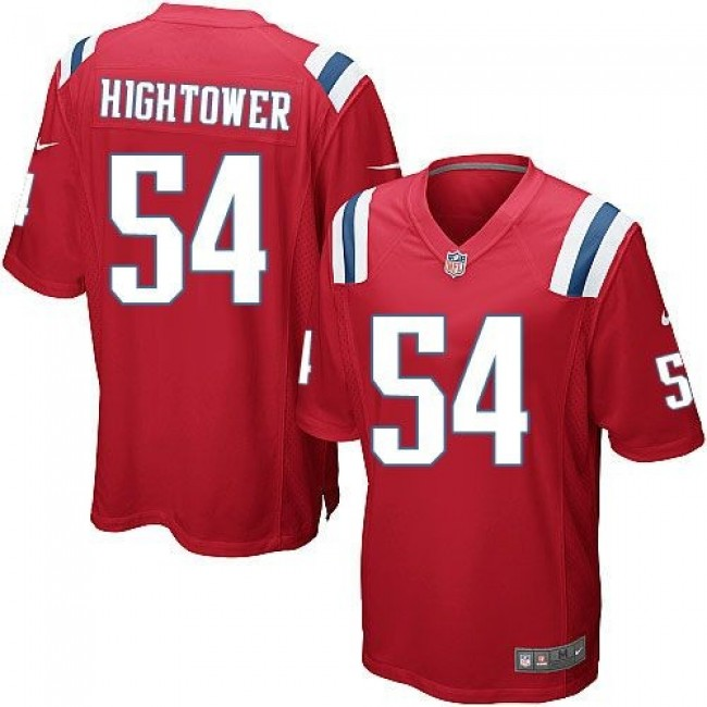 New England Patriots #54 Dont a Hightower Red Alternate Youth Stitched NFL Elite Jersey