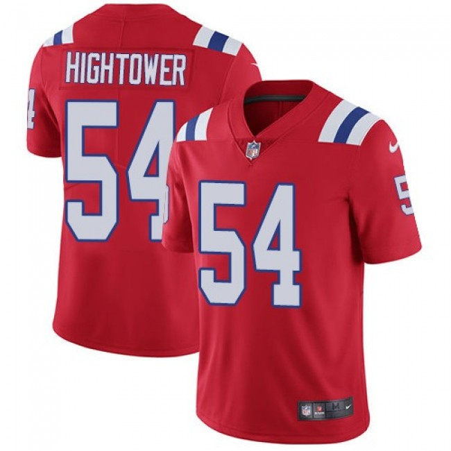 New England Patriots #54 Dont a Hightower Red Alternate Youth Stitched NFL Vapor Untouchable Limited Jersey