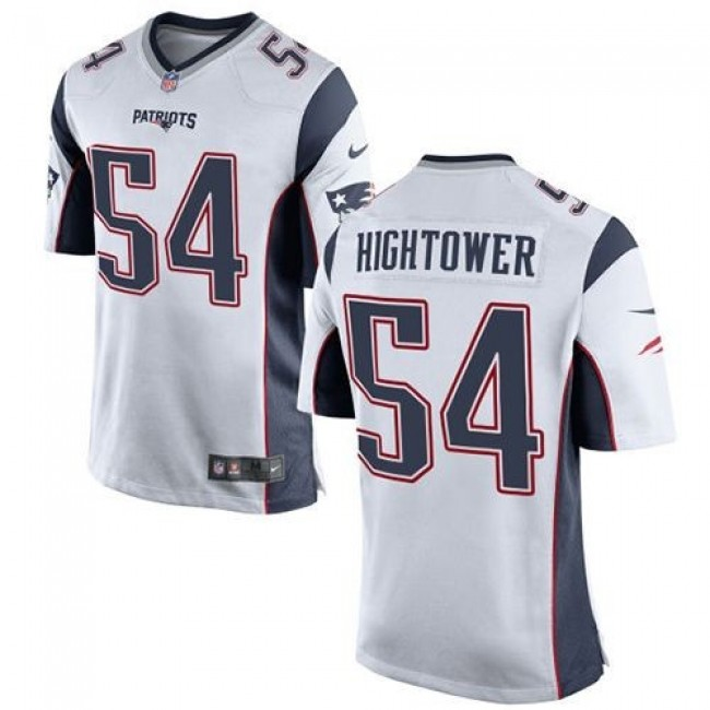 New England Patriots #54 Dont a Hightower White Youth Stitched NFL New Elite Jersey