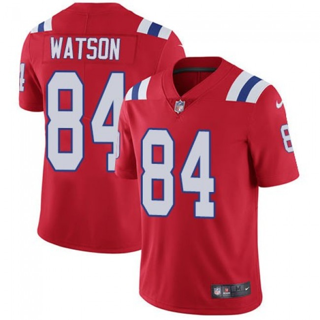 Nike Patriots #84 Benjamin Watson Red Alternate Men's Stitched NFL Vapor Untouchable Limited Jersey