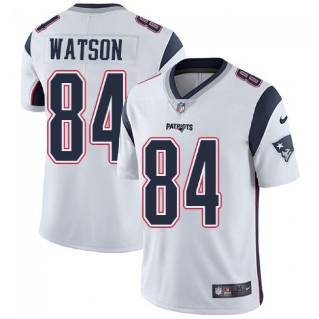 Nike Patriots #84 Benjamin Watson White Men's Stitched NFL Vapor Untouchable Limited Jersey