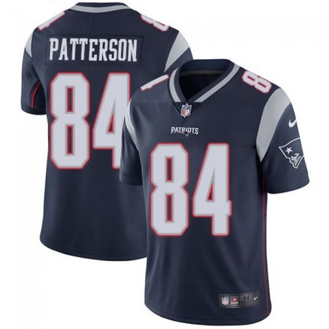 Nike Patriots #84 Cordarrelle Patterson Navy Blue Team Color Men's Stitched NFL Vapor Untouchable Limited Jersey