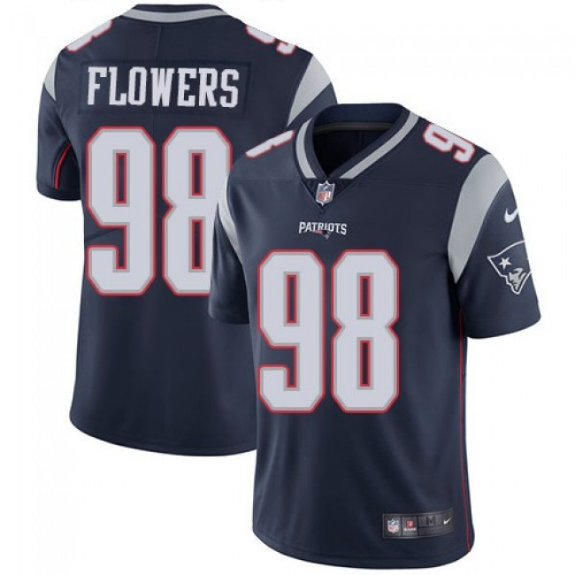 New England Patriots #98 Trey Flowers Navy Blue Team Color Youth Stitched NFL Vapor Untouchable Limited Jersey