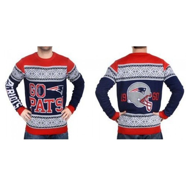 Nike Patriots Men's Ugly Sweater_1
