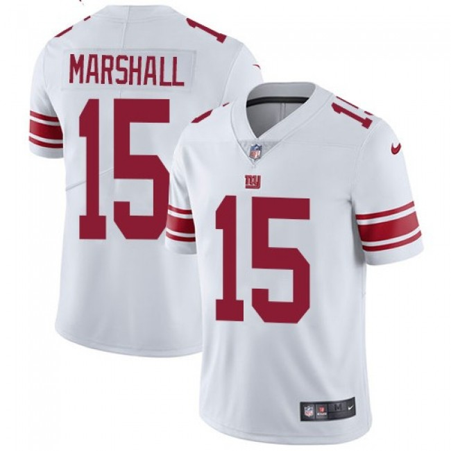 New York Giants #15 Brandon Marshall White Youth Stitched NFL Vapor Untouchable Limited Jersey