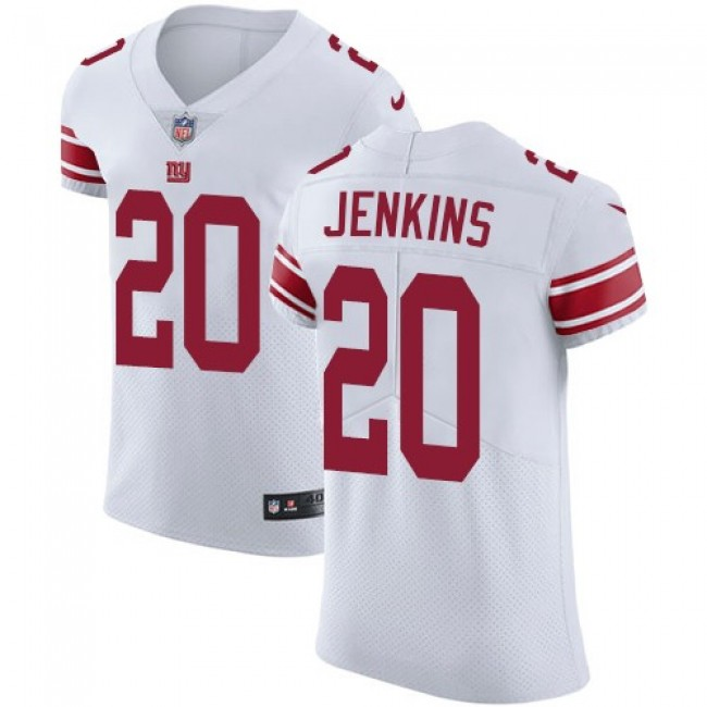 Nike Giants #20 Janoris Jenkins White Men's Stitched NFL Vapor Untouchable Elite Jersey
