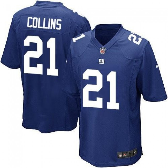 New York Giants #21 Landon Collins Royal Blue Team Color Youth Stitched NFL Elite Jersey