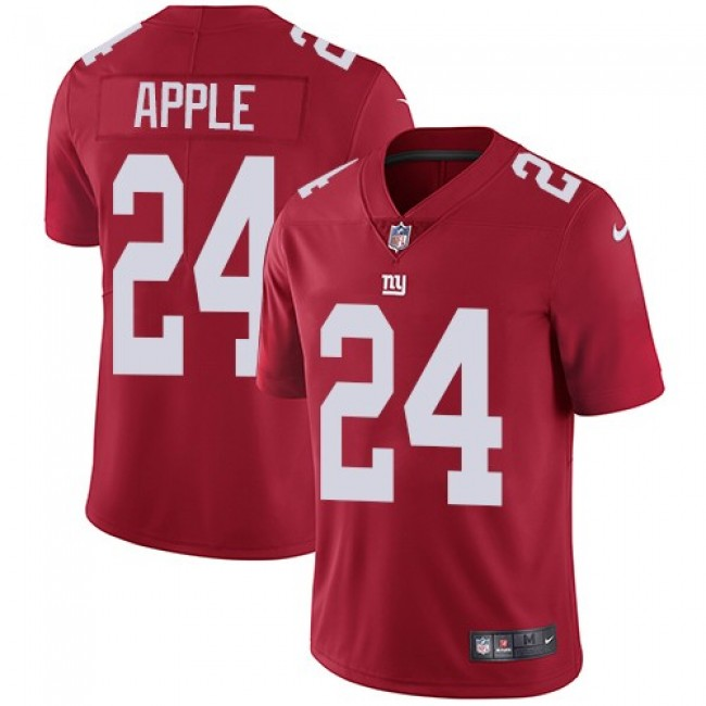 New York Giants #24 Eli Apple Red Alternate Youth Stitched NFL Vapor Untouchable Limited Jersey