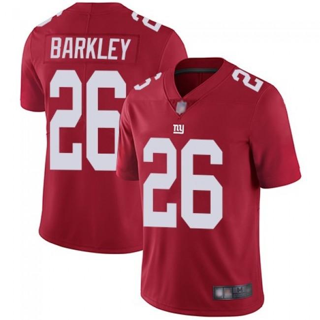 Nike Giants #26 Saquon Barkley Red Men's Stitched NFL Limited Inverted Legend Jersey
