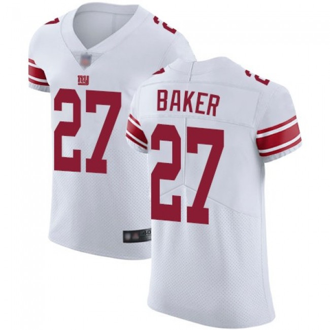 Nike Giants #27 Deandre Baker White Men's Stitched NFL Vapor Untouchable Elite Jersey