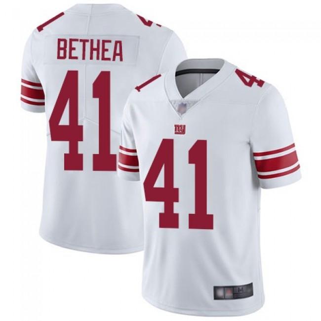 Nike Giants #41 Antoine Bethea White Men's Stitched NFL Vapor Untouchable Limited Jersey