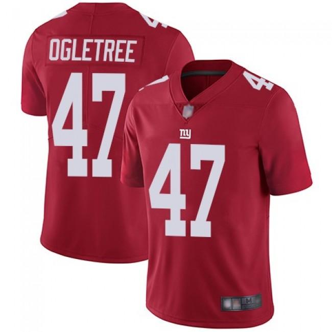 Nike Giants #47 Alec Ogletree Red Alternate Men's Stitched NFL Vapor Untouchable Limited Jersey