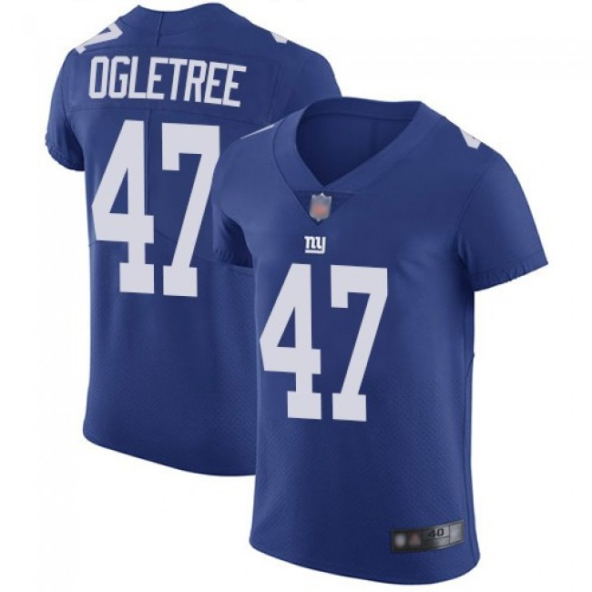 Nike Giants #47 Alec Ogletree Royal Blue Team Color Men's Stitched NFL Vapor Untouchable Elite Jersey