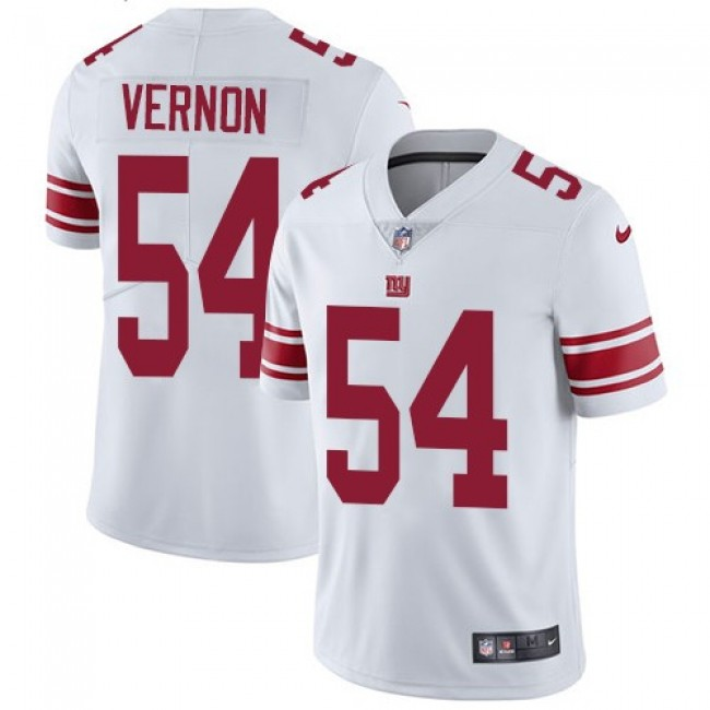 New York Giants #54 Olivier Vernon White Youth Stitched NFL Vapor Untouchable Limited Jersey