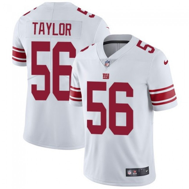 Nike Giants #56 Lawrence Taylor White Men's Stitched NFL Vapor Untouchable Limited Jersey